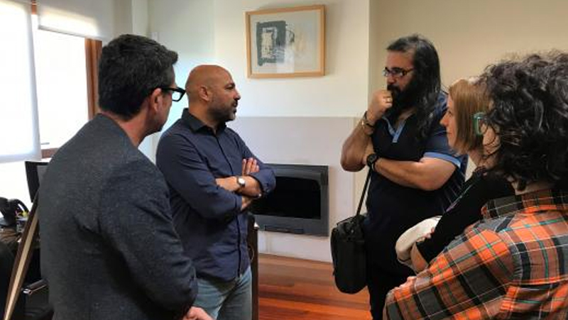 José García Molina se reúne con la APACAM