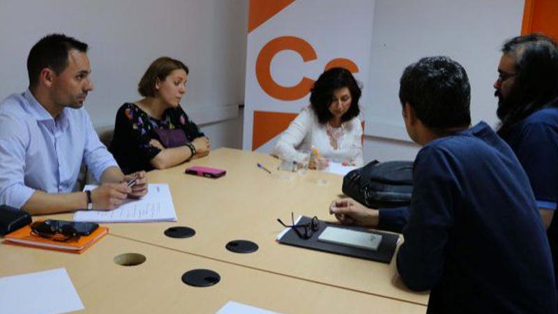 Ciudadanos-CLM se reúne con APACAM